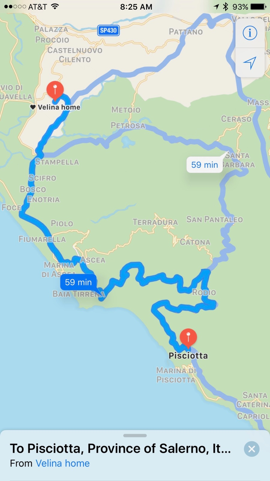 Driving Map Of Italy.Driving In Italy Mezzogiorno Living